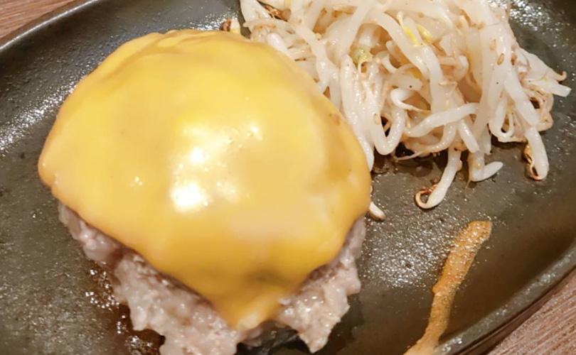 将泰庵ダイナー チーズハンバーグ