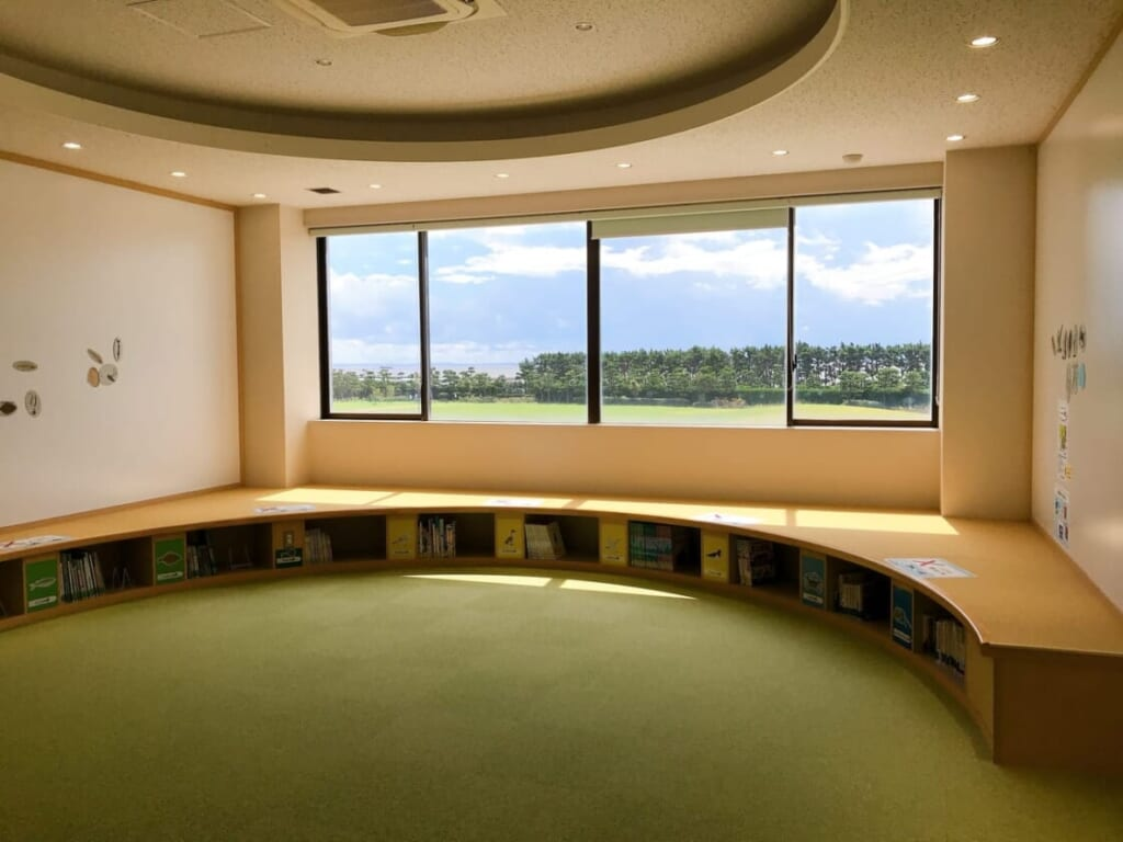 ふなばし三番瀬環境学習館 休憩室