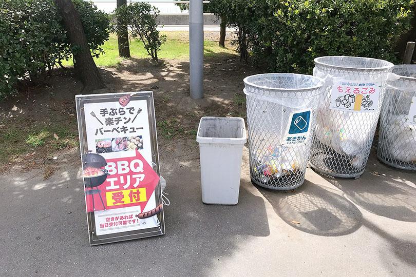 三番瀬海浜公園 BBQ会場