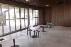 三番瀬海浜公園 展望台の中