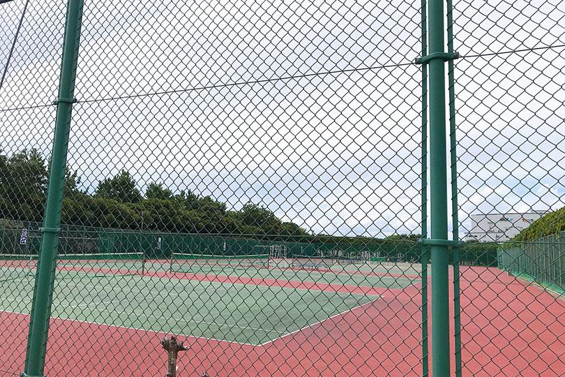 三番瀬海浜公園 テニスコート