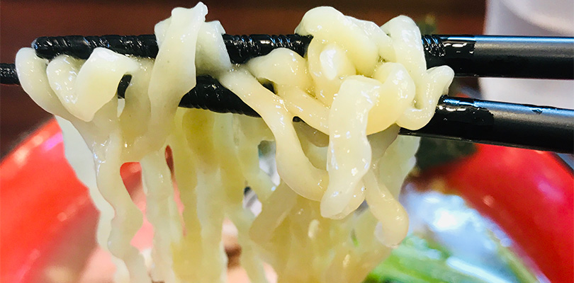 とものもと 中太麺