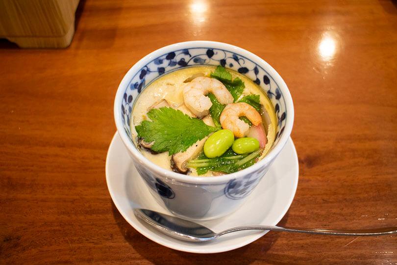福松の茶碗蒸し