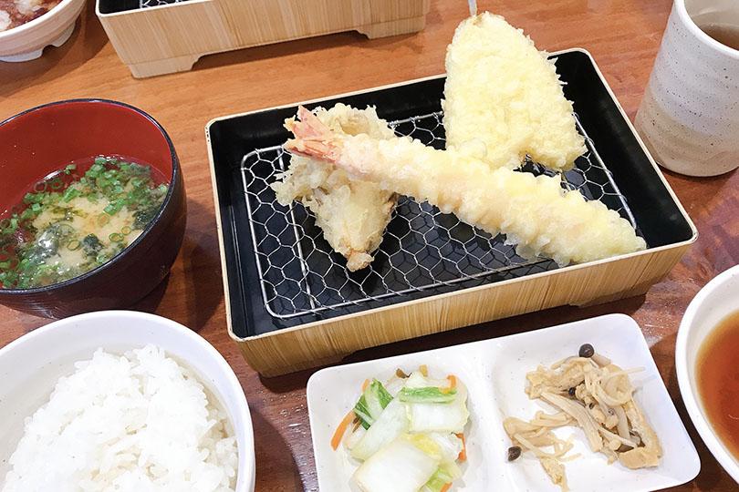 【福松】船橋で気軽に食べる天ぷら!コスパ抜群ボリューム天ぷらを頂いた