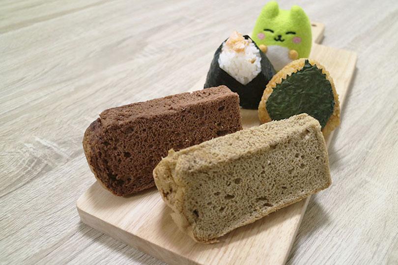 【064(オムフォン)】北習志野にあるおむすびとシフォンケーキのお店でお試しテイクアウト♪