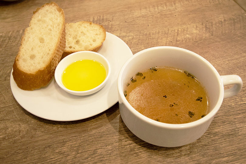 パン&本日のスープ