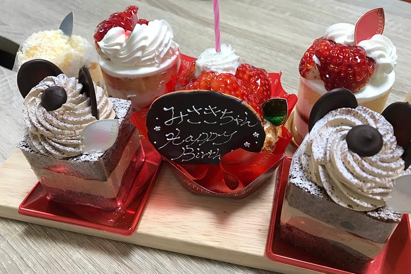 菓子工房アントレ ケーキ