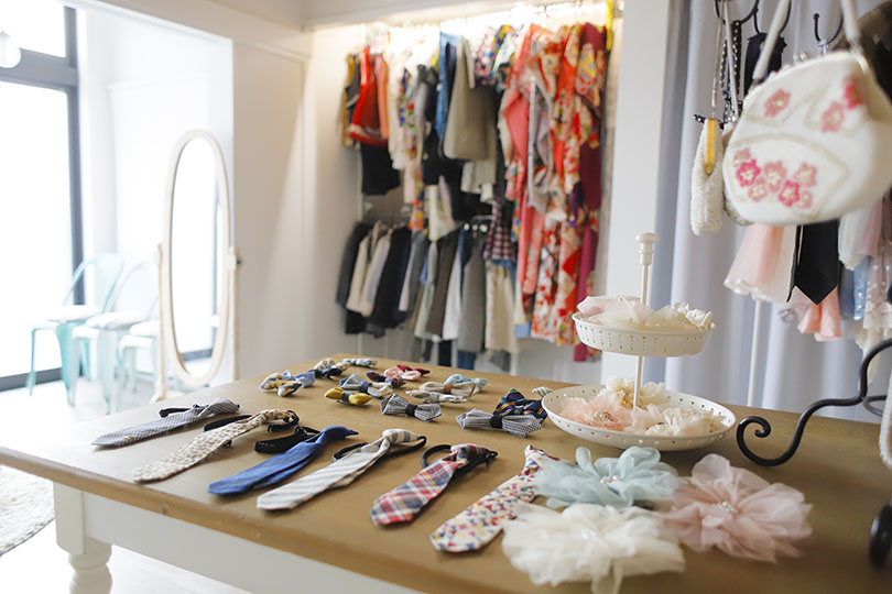 レンタル衣装と小物