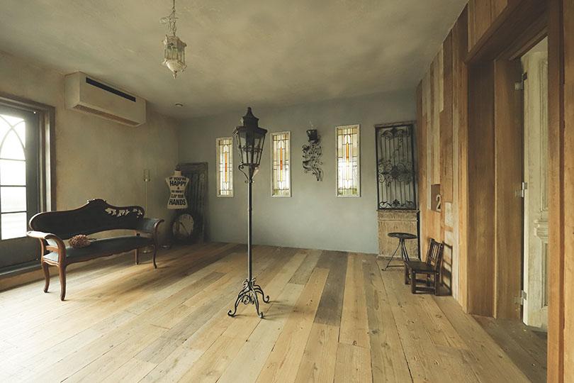 クシェルスタジオの撮影室