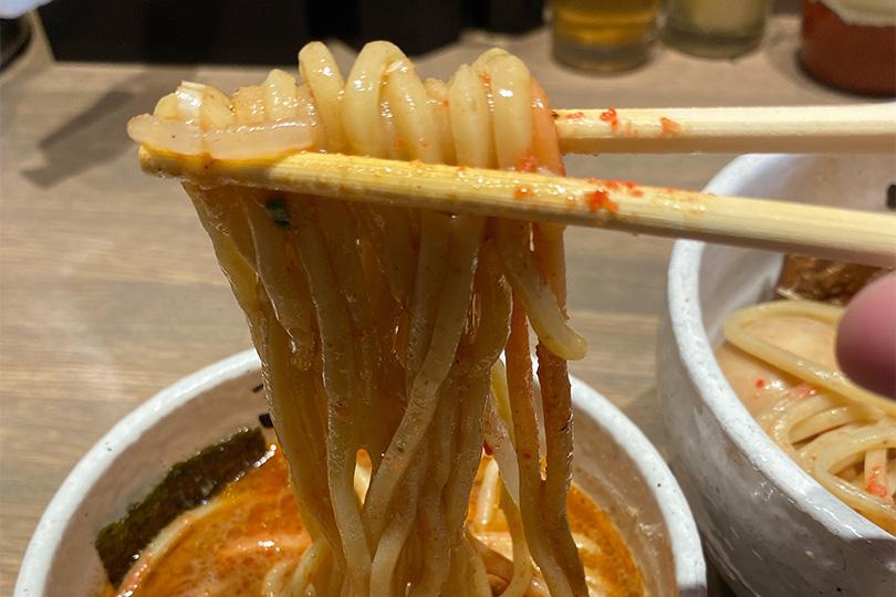 つけ麺一頂の麺