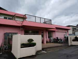マカロン専門店ジュゴンの隣保育園