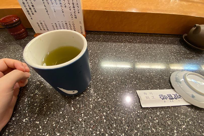御旦孤のお茶