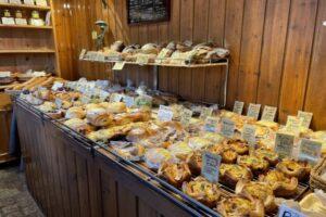 Boulangerie Queueさんの店内