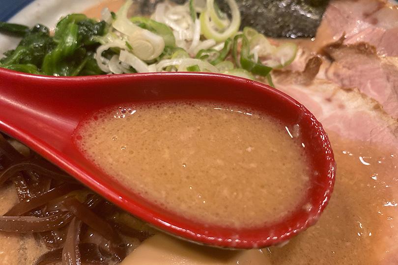 戯拉戯拉のラーメンスープ