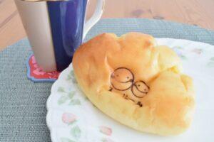 スーリールのカスタードクリームパン
