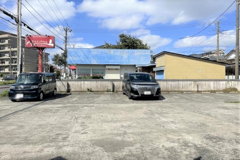 アルトバウムの駐車場