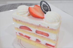 ラパージュさんの苺のショートケーキ