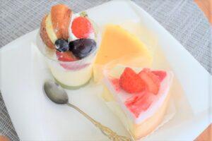 パティスリーシュクレサレのケーキ